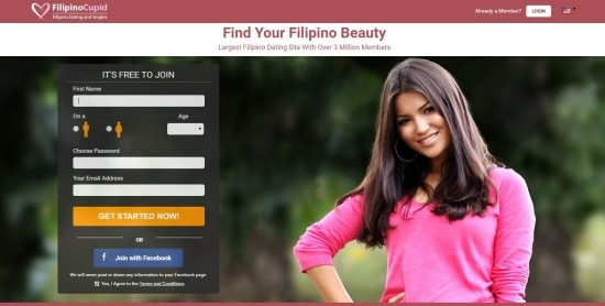 filipino cupid homepage
