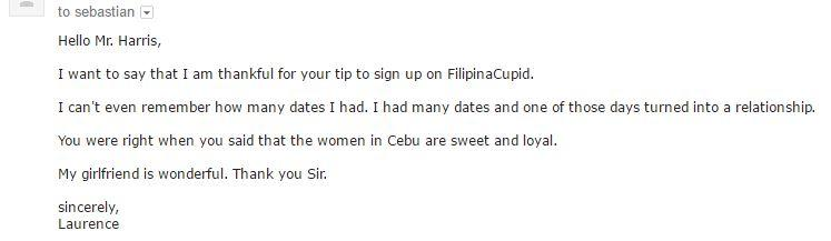 cebu online dating testimonial