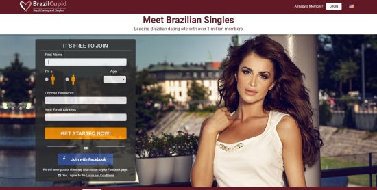 Brazil Cupid Homepage