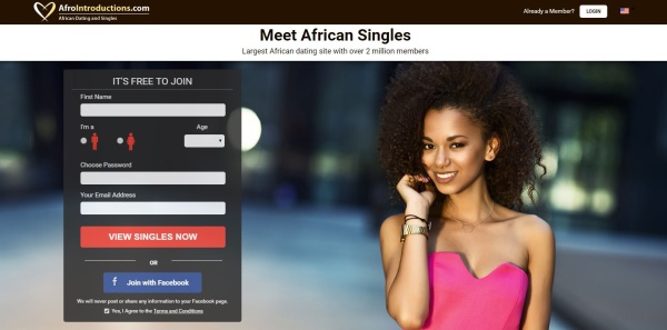 afro introductions homepage