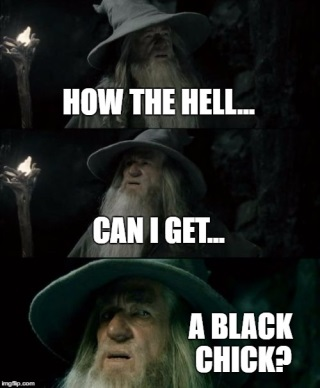 gandalf black girl meme