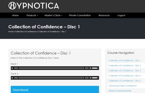 The Collection of Confidence Download Area