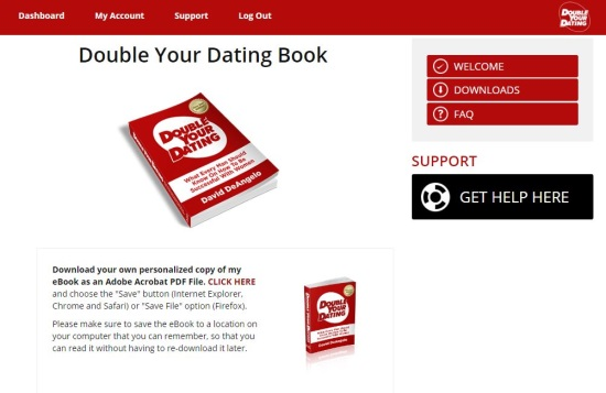How to double your dating download. woman uses online dating for free meals.