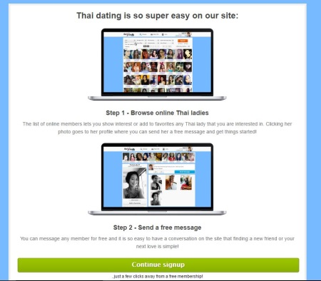 thai friendly signup step 2