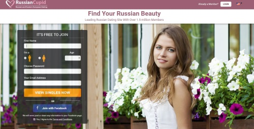 russian cupid homepage