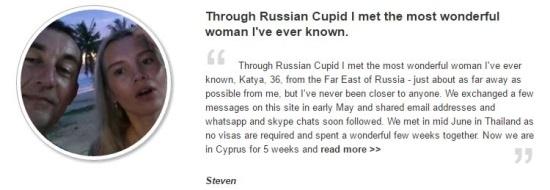 russian cupid testimonial