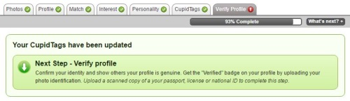 verify your profile on russian cupid