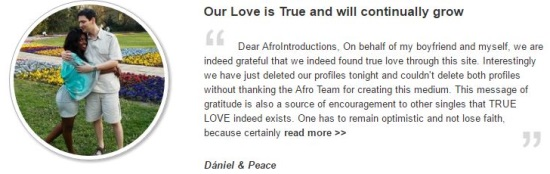 afrointroduction testimonial