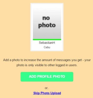 how to upload a profile picture on pinalove.com