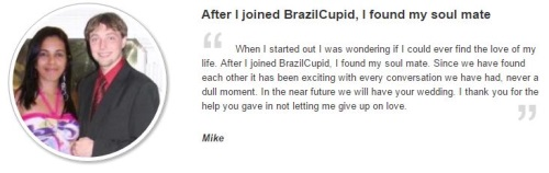 Testimonial of Brazilian woman