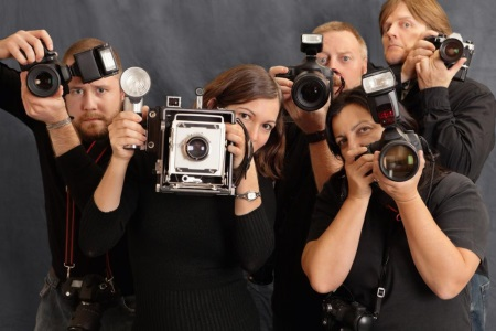 angry photographers