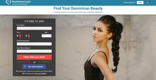 Homepage Dominican Cupid