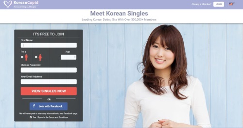 Korean Cupid Homepage