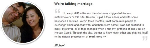 Korean Cupid Testimonial