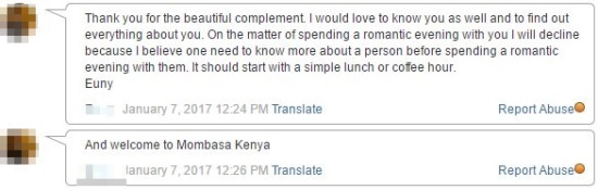 message from sexy mombasa girl