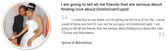 Dominican cupid testimonial