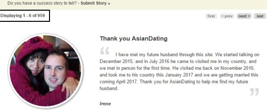 asiandating success stories