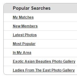 popular searches on asiandating