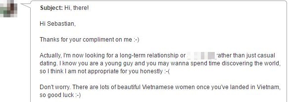 message from good vietnamese girl