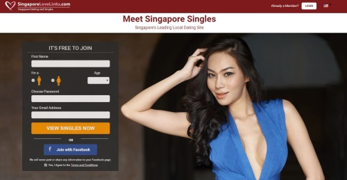 homepage of singapore love links