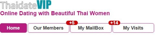 messages from thai girls on dating site