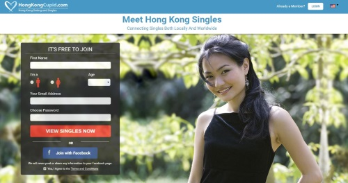 hong kong cupid homepage