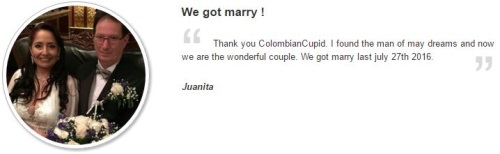 testimonial of colombian dating site