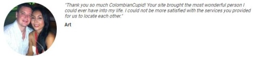 success story on colombian cupid