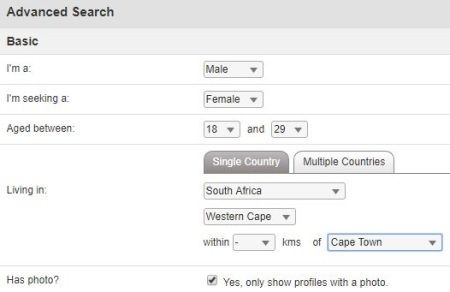 search black girls in cape town