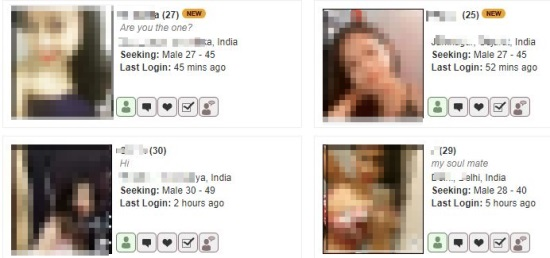 indian girls on asiandating.com
