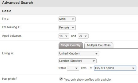 search for black girls in london