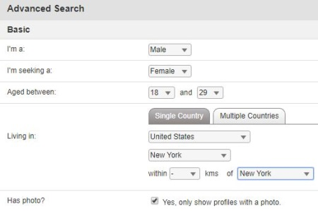 search for black girls in New York