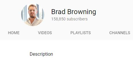 brad browning youtube