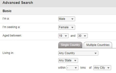 advanced search on muslima