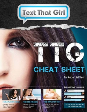 text that girl cheat sheet