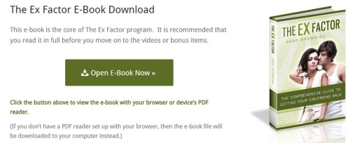 the ex factor guide ebook