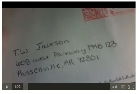 address of t.w jackson