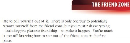 excerpt of friend zone bonus