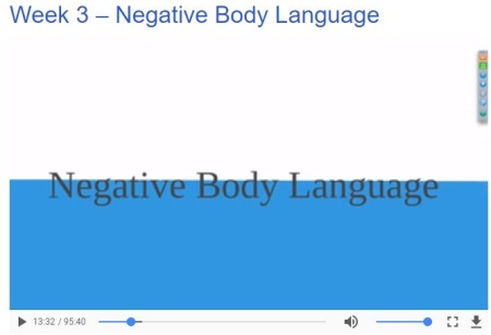 negative body language