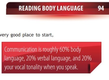 reading body language on tao of badass