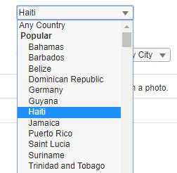 haiti popular on caribbean cupid