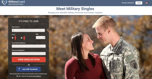 homepage military cupid