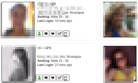 Online Chat & Dating in Nicaragua