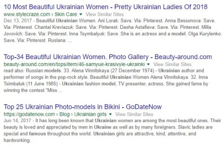 ukrainian models on google